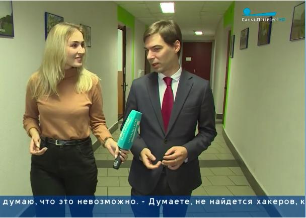Мы на экране Петербургского телевидения!